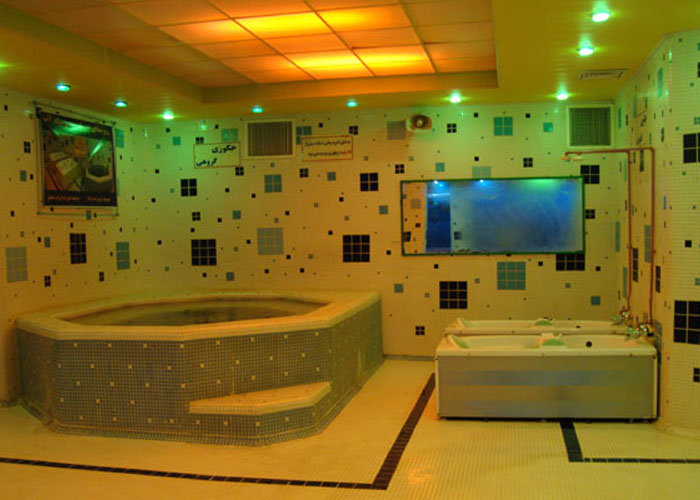 عکس مجتمع آبی هتل آپارتمان اترک سرعین