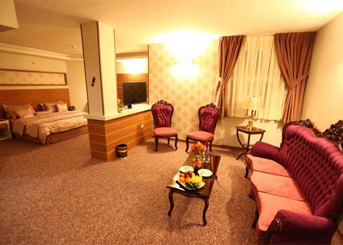 اتاق آتوسا هتل آوین اصفهان