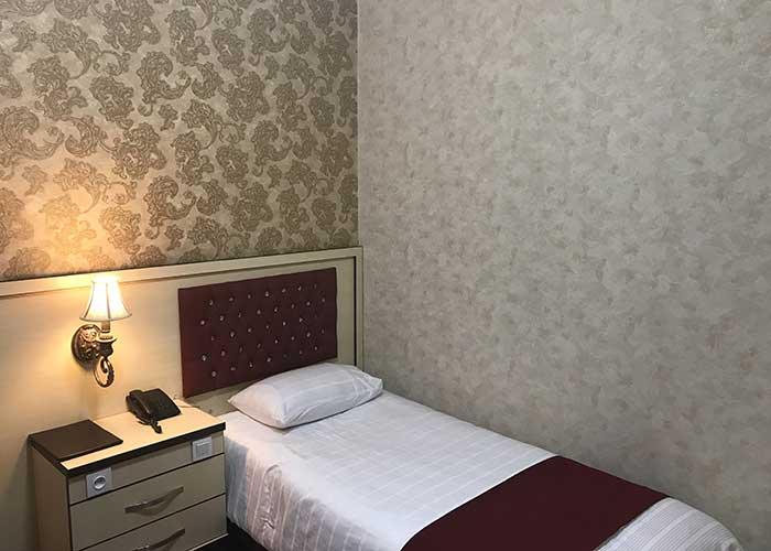 اتاق یک تخته هتل اورین تهران
