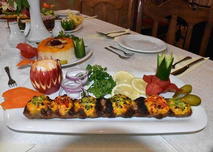 غذای طبخ رستوران هتل اورین تهران