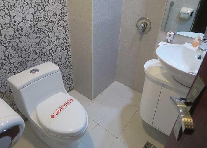 سرویس بهداشتی اتاق هتل اورین تهران