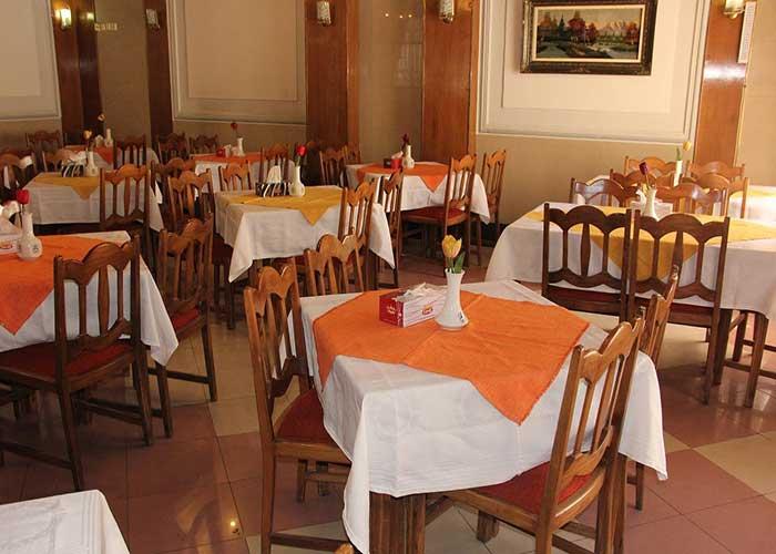 رستوران هتل اورین تهران