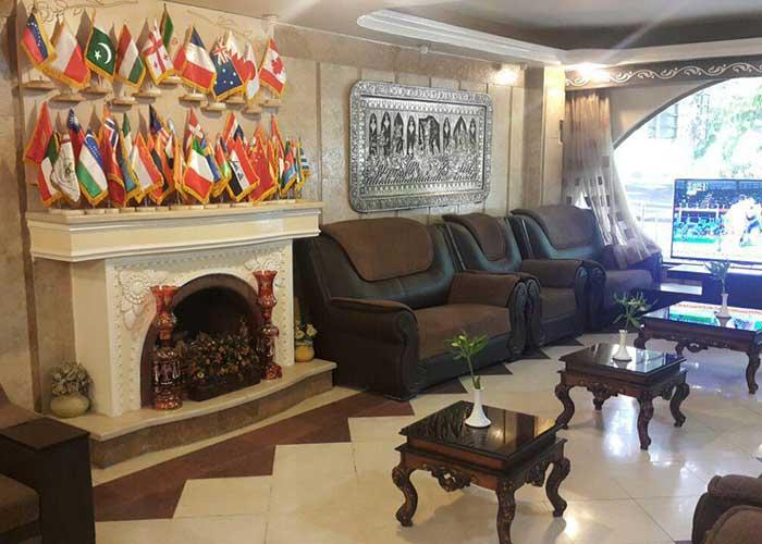 عکس لابی هتل آزادی اصفهان
