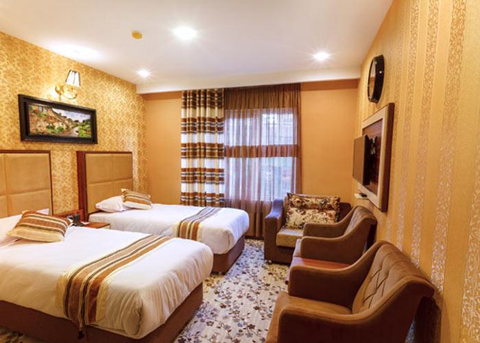 عکس اتاق هتل بهار تهران