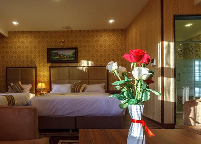 تصاویر اتاق هتل بهار تهران
