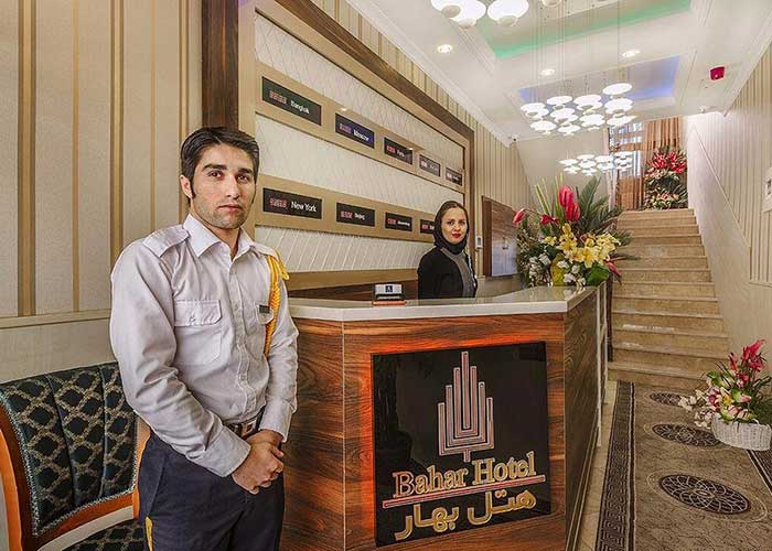 پذیرش هتل بهار تهران