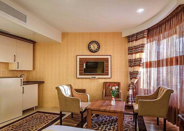 اتاق هتل بهار
