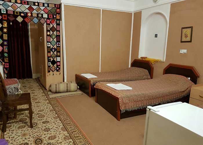 اتاق های هتل کویری