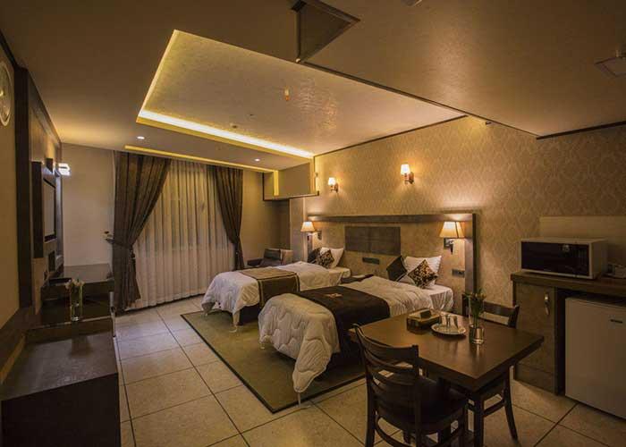تصاویر اتاق های هتل باران اصفهان