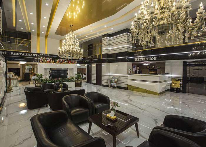 تصاویر لابی هتل باران اصفهان