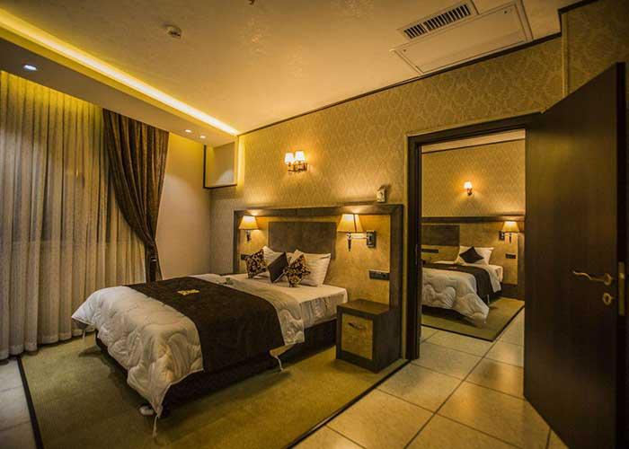 عکس اتاق های هتل باران اصفهان