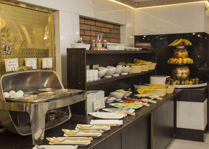 تصاویر رستوران هتل باران اصفهان
