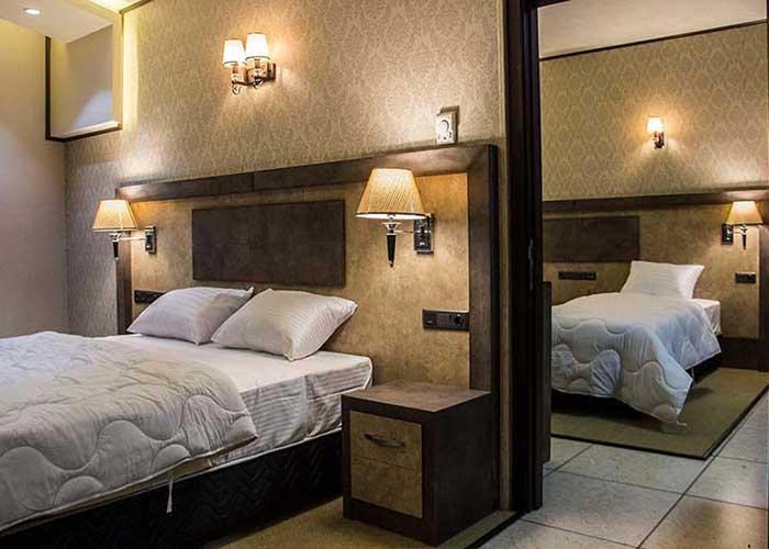 تصاویر اتاق های هتل باران