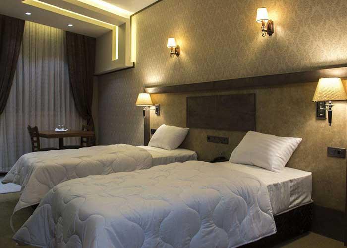 عکس اتاق های هتل باران