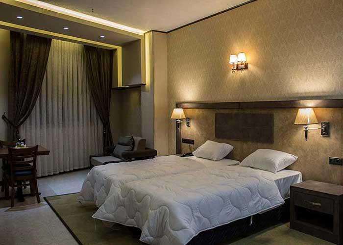 دو تخته توئین هتل باران اصفهان
