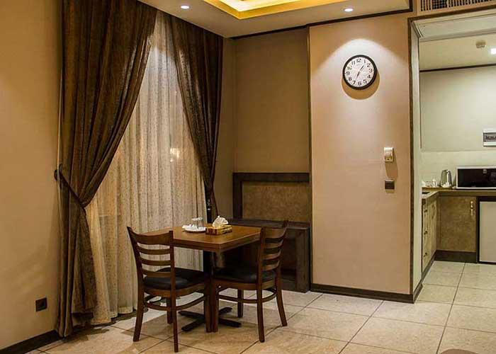 آشپزخانه هتل باران اصفهان
