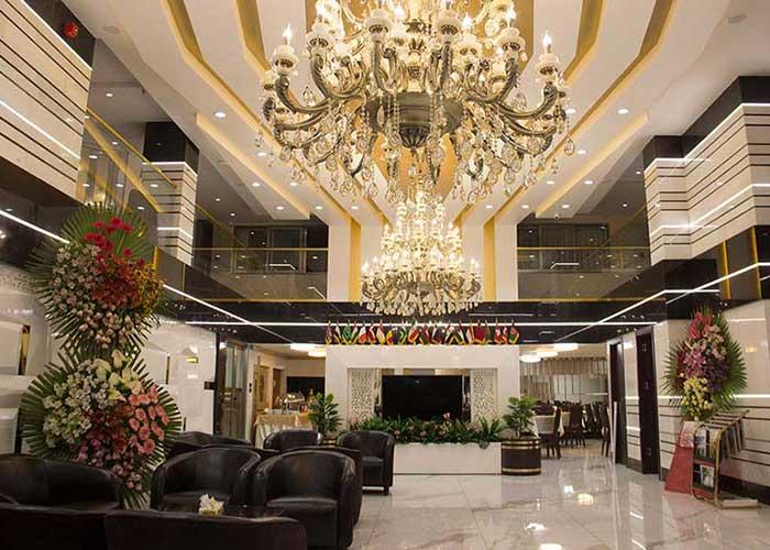 عکس لابی هتل باران اصفهان