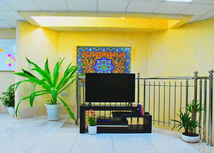 لابی مهمانپذیر بید اصفهان