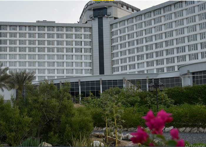 نمای ساختمان هتل بین المللی کیش