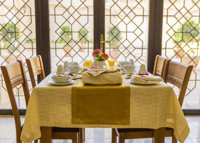 تصاویر رستوران هتل بین الحرمین شیراز