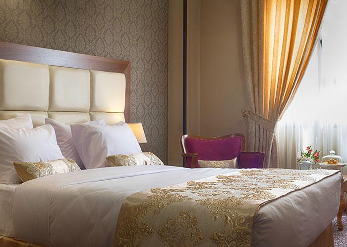 دو تخته دبل هتل بین الحرمین شیراز