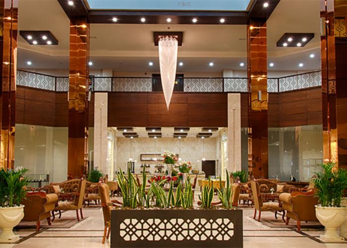 لابی هتل بین الحرمین شیراز