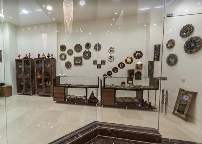 فروشگاه صنایع دستی هتل بین الحرمین شیراز