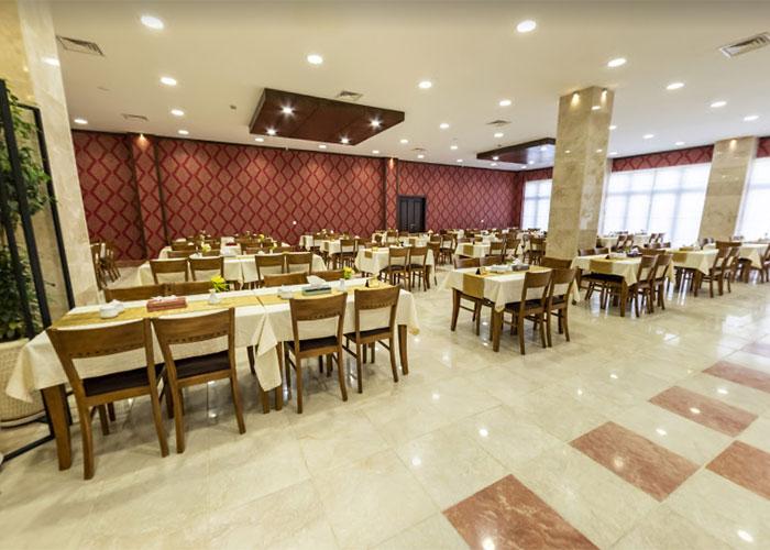 رستوران هتل بین الحرمین شیراز