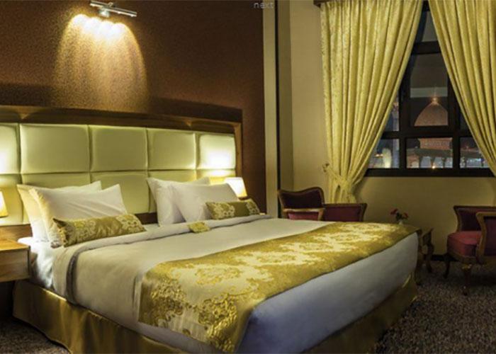 عکس دو تخته دبل هتل بین الحرمین شیراز