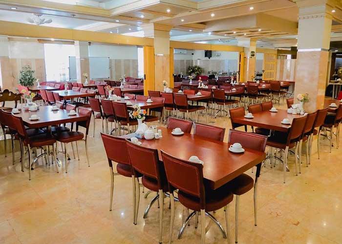 رستوران هتل بلور تهران