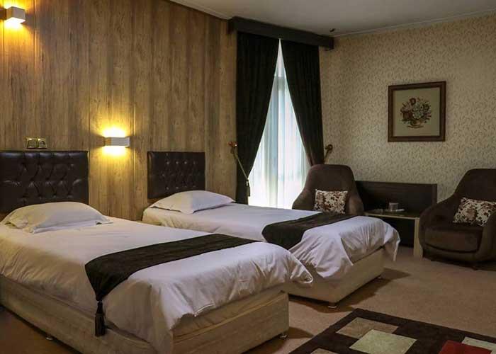 تصاویر اتاق هتل بلور تهران