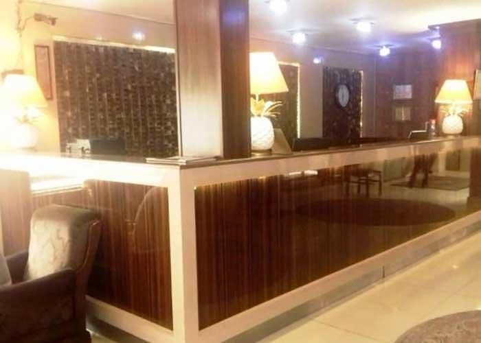 پذیرش هتل بولوار تهران