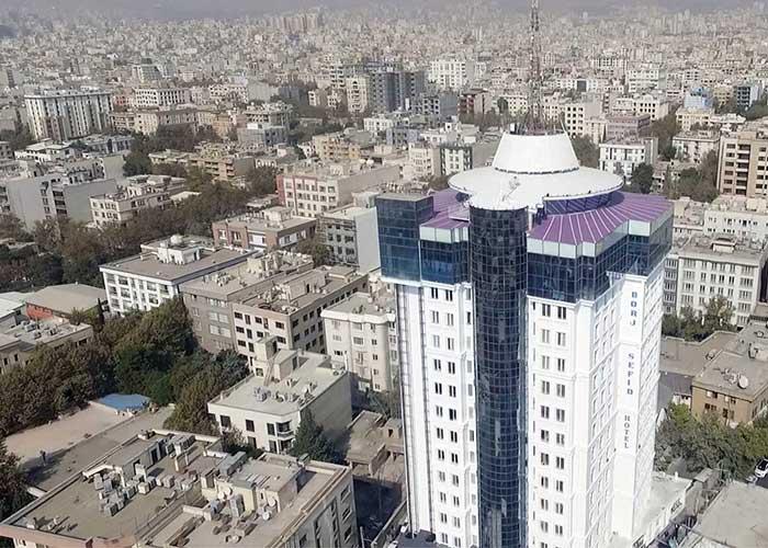 ساختمان هتل برج سفید تهران