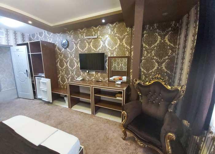 فضای اتاق هتل بوستان