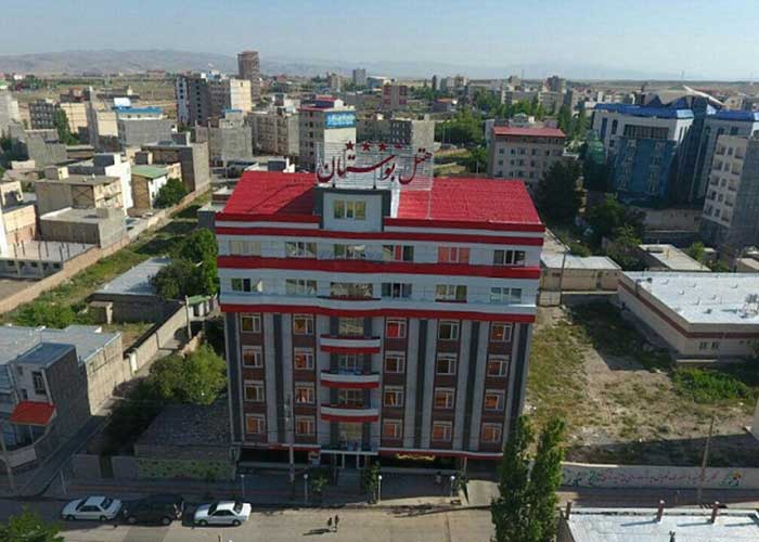 عکس ساختمان هتل بوستان سرعین