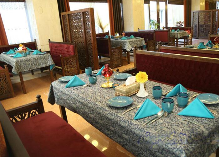 رستوران سنتی هتل سینور مشهد