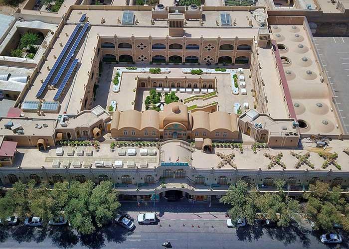 ساختمان هتل داد یزد
