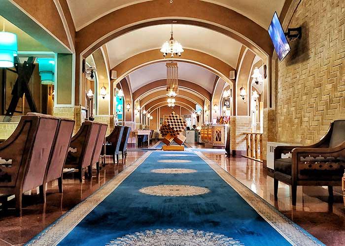 عکس لابی هتل داد یزد
