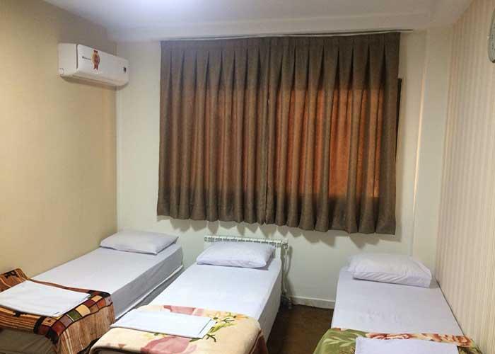 اتاق های هتل دانش تهران