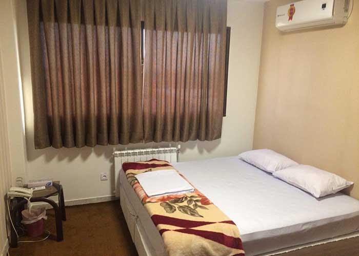 عکس اتاق های هتل دانش