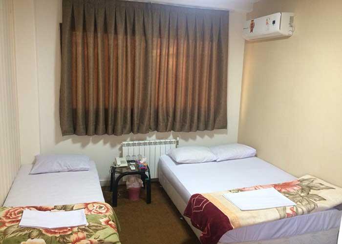 تصاویر اتاق های هتل دانش