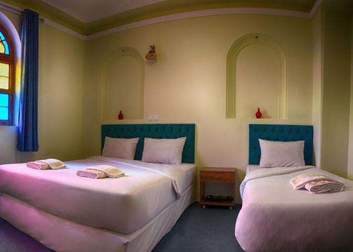 عکس اتاق هتل درباری شیراز