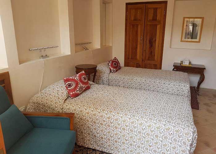 تصاویر اتاق دو تخته اقامتگاه سنتی درب باغ کاشان