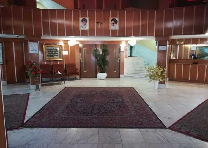 لابی هتل دریا اردبیل