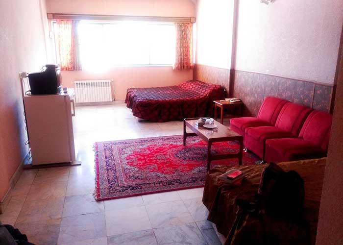 اتاق هتل دریا اردبیل
