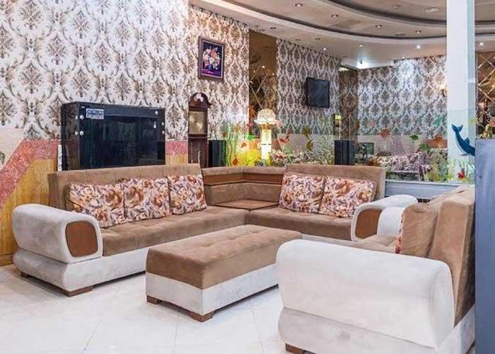 تصاویر لابی هتل آپارتمان دیدار مشهد