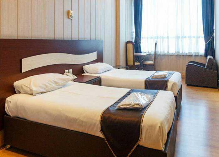 اتاق دو تخته توئین هتل درسا تهران