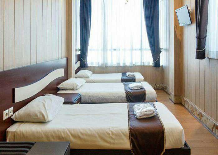 اتاق سه تخته توئین هتل درسا تهران