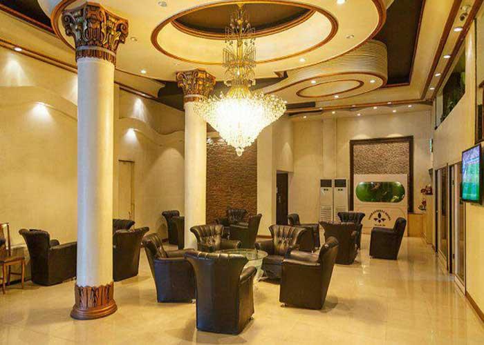 فضای لابی هتل درسا تهران