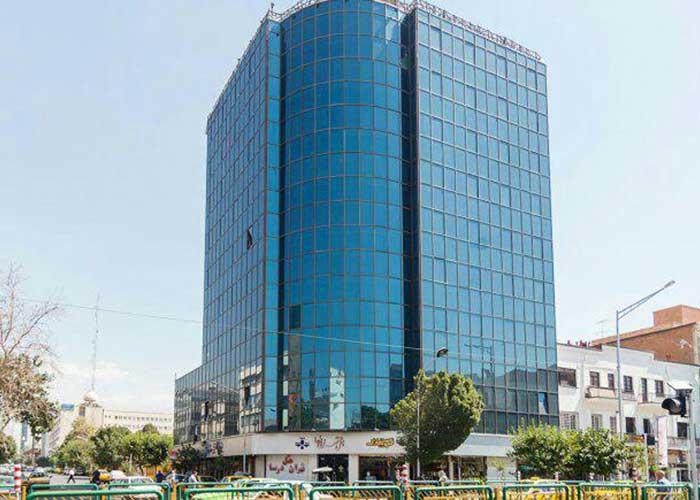 ساختمان هتل درسا تهران